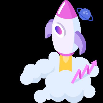 ロケットの図